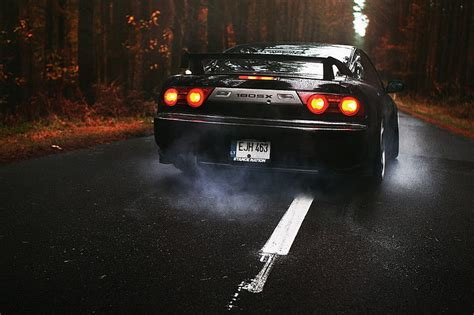 Choose from hundreds of free cars wallpapers. HD wallpaper: black supercar, JDM, Nissan, 180SX, Burnout ...