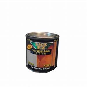 Faux EZ Natural Wood Grain Cabinet Paint (8 oz.) Natural ...