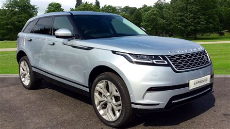 land rover silver used land rover range rover velar cars for sale grange