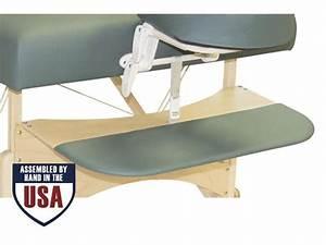 Oakworks Spa  Arm Rest Portable Wooden Massage Table  Spa