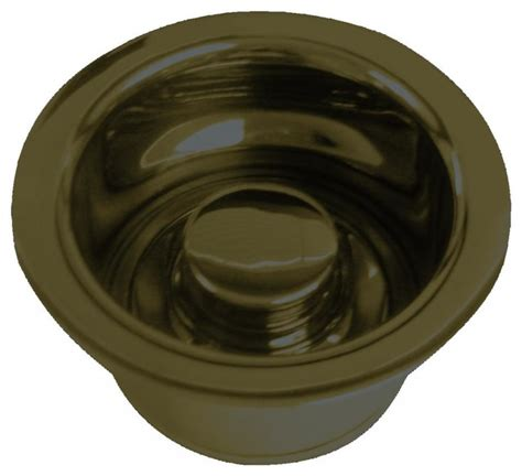 insinkerator sink top switch rubbed bronze insinkerator style disposal flange and stopper