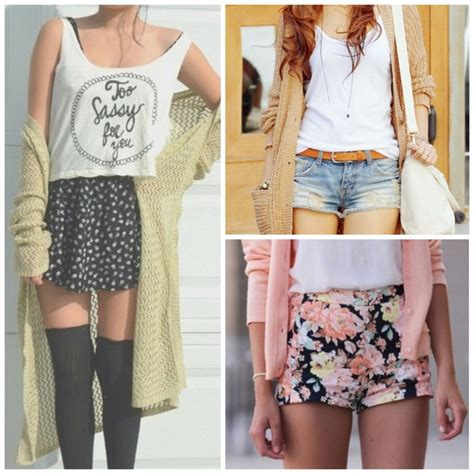 Cute Summer Outfits Tumblr Shorts 2015-2016 | Fashion Trends 2016-2017