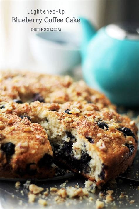 Coffee cake recipes from frozen wings : Lightened-Up Blueberry Coffee Cake   www.diethood.com   Soft, light and airy, this cof…   Coffee ...