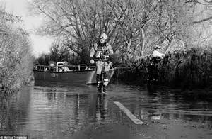 Small Boat Used To Get To Land by Photographer Matilda Temperley Turns On Flood