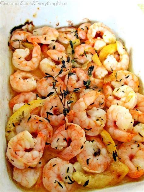 roasted lemon garlic shrimp cookn  fun food recipes