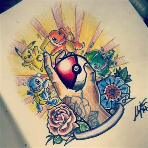 legendary pokemon tattoo pictures