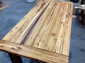 recycled hickory barn wood table top reclaimed wood With barn wood for sale michigan