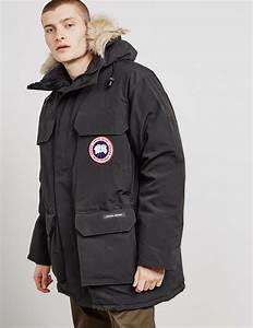 Lyst Canada Goose Mens Expedition Padded Parka Jacket Black Black In Black For Men
