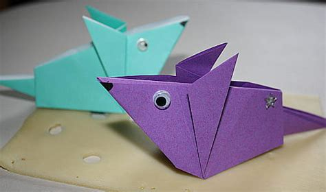 Origami-maus Anleitung