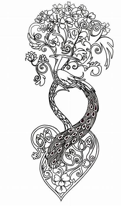 Coloring Tattoo Tatouage Tattoos Coloriage Adult Coloriages