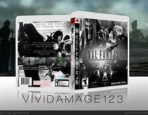 Final Fantasy VII PlayStation 3 Box Art Cover By Vividamage123