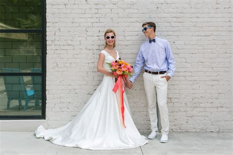 Punchy & Preppy Nautical Wedding Inspiration At The