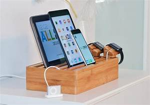 Ipad Iphone Ladestation : alldock h lzerne ladestation f r smartphones tablets und die apple watch ~ Sanjose-hotels-ca.com Haus und Dekorationen