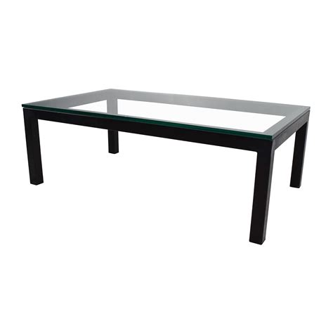 crate and barrel parsons table 65 off crate and barrel crate barrel parsons coffee