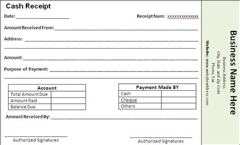 fee receipt format receipt templates free word 39 s templates