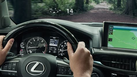 electric power steering 2006 lexus lx head up display how vehicle head up displays work openroad auto group