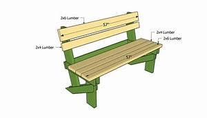 Easy Outdoor Bench Plans DIY Blueprint Plans Download wood