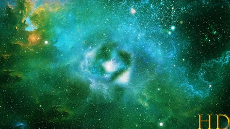 abstract green space nebula background  ketrinprize