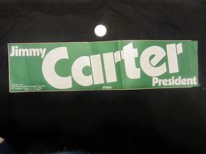 jimmy carter bumper sticker a bill39s political shoppe With kitchen cabinets lowes with democrat bumper stickers