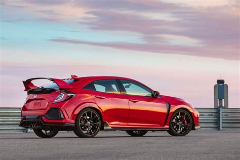 Civic Type R by 2018 Honda Civic Type R Gets Small Price Bump Motor Trend