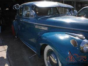 1940 Buick Super Eight 4 Door Sedan
