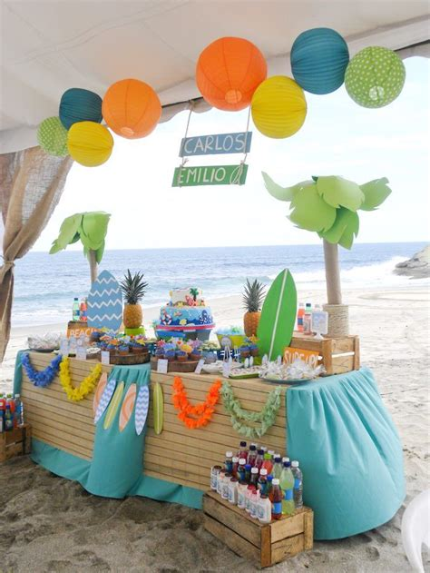 ideas  beach party themes  pinterest