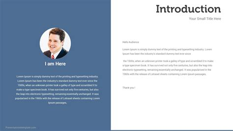 template  introduction