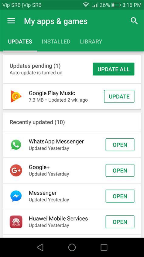 update  android apps   technobezz