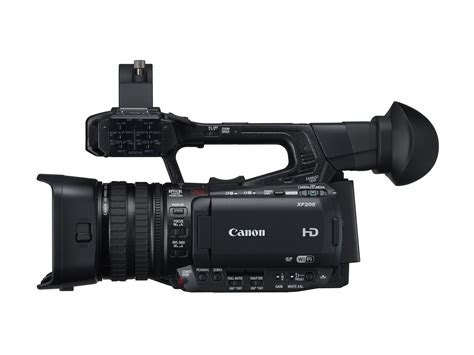 canon professional canon launches xf205 and xf200 hd professional camcorders