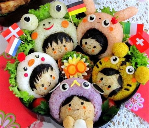 Pin Anime Panda Happy Lunchbox On 70 Best Bento Licious Food Images On