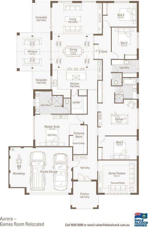 aurora floorplan garage house plans house plans modern