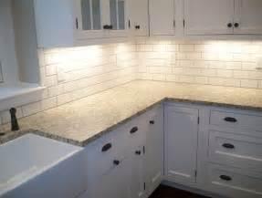 subway tile kitchen backsplashes white subway tile kitchen backsplash pictures home design ideas