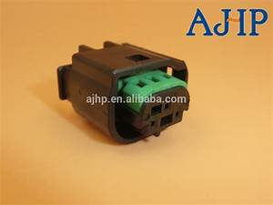 3 Ways Waterproof Female Electrical Auto Connector Pbt