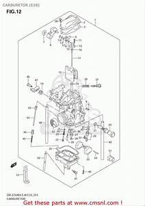 Suzuki Dr Z250 Carburetor 2017