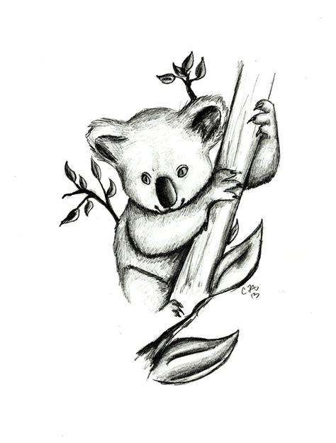 baby koala bear drawing