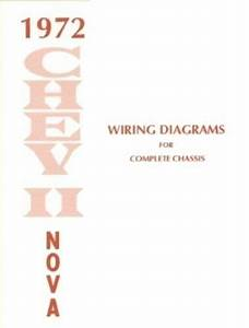 Chevy Ii  Nova 1972 Wiring Diagram 72