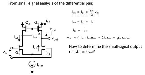 Differential Pair With Current Mirror Load Electrical