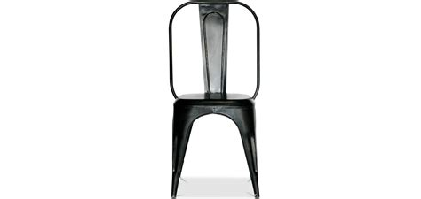 chaise style industriel chaise metal industriel pas cher maison design bahbe com