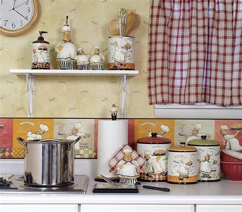 Kitchen decor themes ideas, fat chef kitchen decor ideas