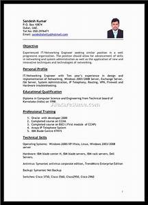 best job resume format it resume cover letter sample With best resume format