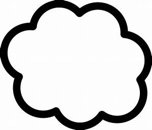 Cloud Shape Template Clip Art at Clker.com - vector clip ...