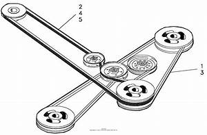 Bobcat Zero Turn Drive Belt Diagram