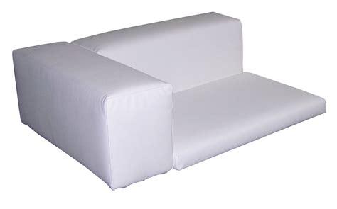 accoudoir de canapé coussin dossier accoudoir pour canapé
