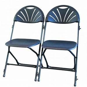 Chaise Pliante Noire : location chaise pliante noire en val d 39 oise 95 ~ Teatrodelosmanantiales.com Idées de Décoration
