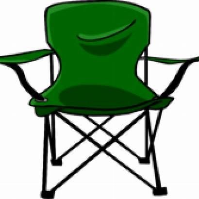 Chair Clipart Clip Folding Transparent Camping Seat