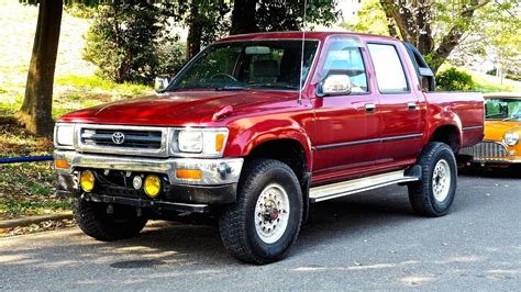 1991 Toyota Hilux Pickup Diesel 5sp Double Cab (usa Import