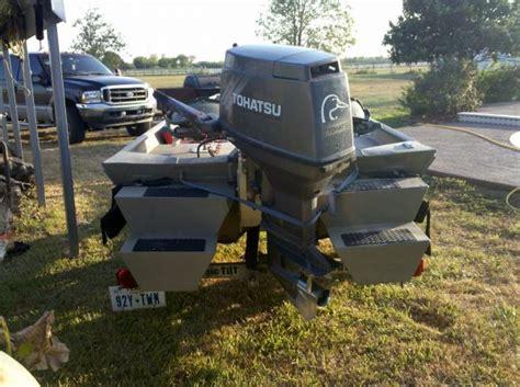 Alumacraft Boats For Sale Louisiana by 2006 15ft Alweld Alumacraft Tunnell Hull Pods Duck Boat