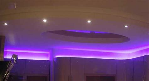 glowing ceiling designs  hidden led lighting