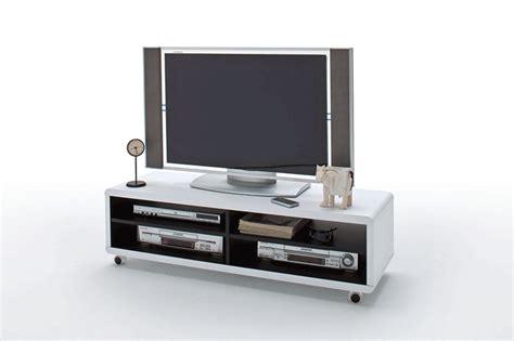 mobile porta tv con rotelle ettorino mobile porta tv bianco interni neri con ruote