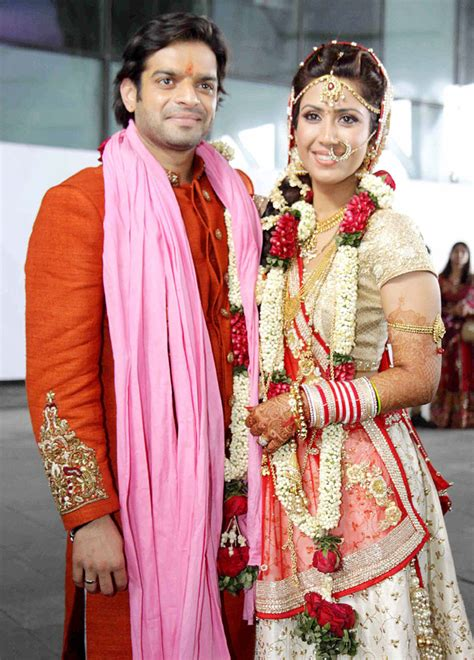 yeh hai mohabbatein actor karan patel marries ankita